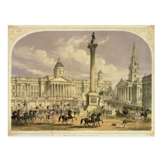 Trafalgar Square, published by Dickinson Postcard