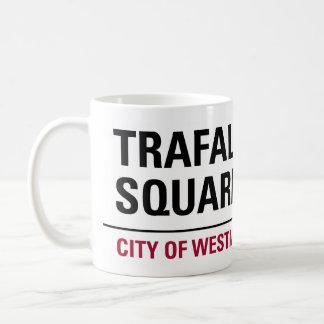 Trafalgar Square Sign Mugs