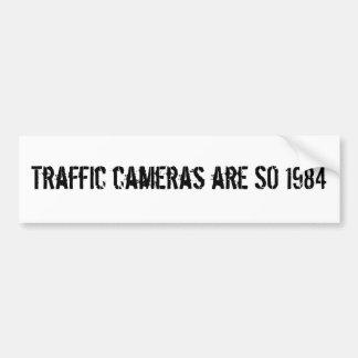 Traffic Cameras Are SO 1984 Bumper Sticker