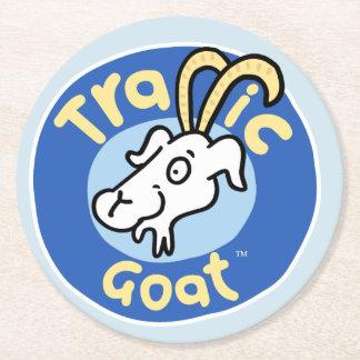 Traffic Goat Paper Coaster
