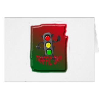Traffic jam card