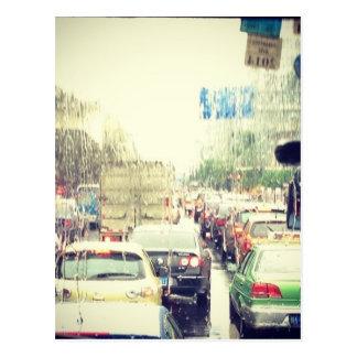 Traffic Jam Postcard