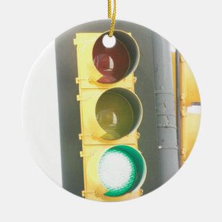 Traffic Light Ornament
