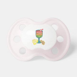 Traffic Light Milkshake Dummy Baby Pacifiers