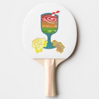 Traffic Light Milkshake Ping Pong Bat Ping Pong Paddle