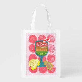Traffic Light Milkshake Reusable Bag