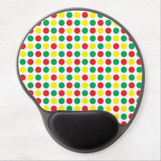 Traffic lights gel mouse pad