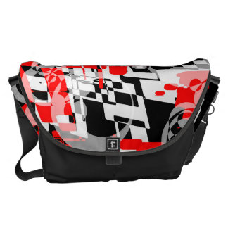 TRAFFIC NINJA CAMO Large Messenger Bag