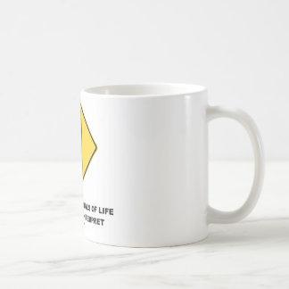 Traffic Signals Of Life Are Hard To Interpret Coffee Mugs