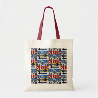 Traffic signs tote bag