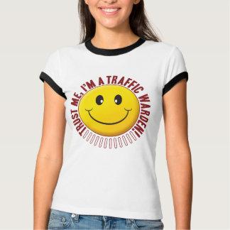 Traffic Warden Trust Smiley Tshirt