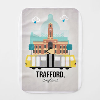 TRAFFORD, MANCHESTER BURP CLOTH