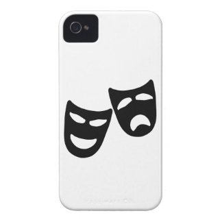 Tragedy and Comedy Masks Case-Mate iPhone 4 Cases