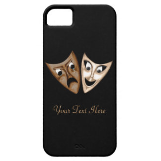 Tragedy & Comedy Barely There iPhone 5 Case