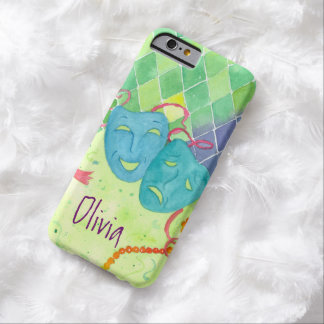 Tragedy Comedy Masks Phone Case Harlequin Art Barely There iPhone 6 Case