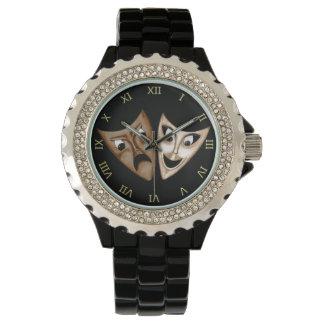 Tragedy & Comedy Wristwatch