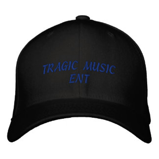 TRAGIC MUSIC ENT HAT DESIGN 1 EMBROIDERED HATS