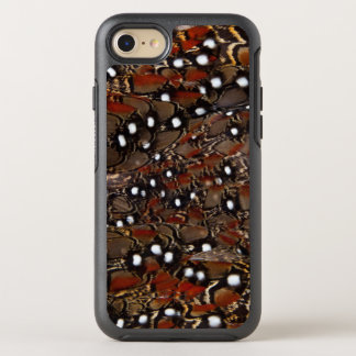 Tragopan Breast Feather Abstract OtterBox Symmetry iPhone 8/7 Case