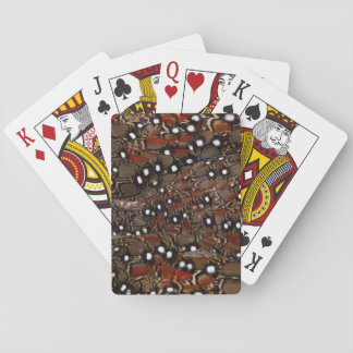 Tragopan Breast Feather Abstract Playing Cards