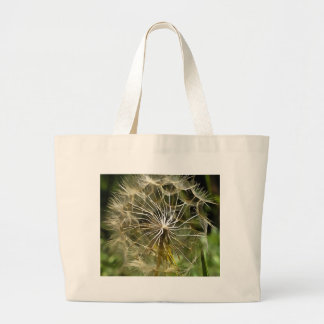 Tragopogon Flower Salsify Large Tote Bag