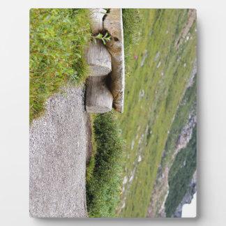 Trail Bench editbench Plaque