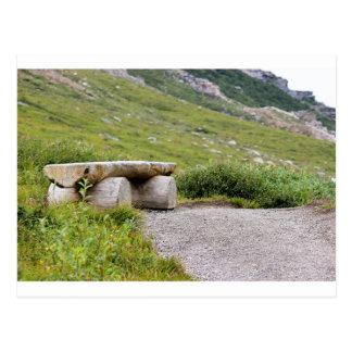 Trail Bench editbench Postcard