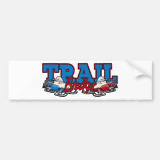 Trail Breaker Bumper Sticker