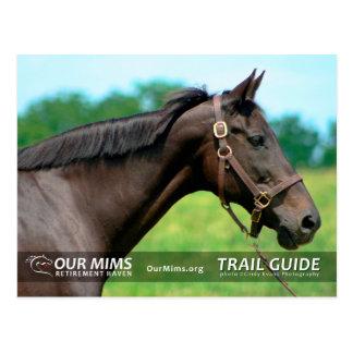 Trail Guide postcard