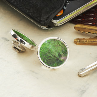 Trail in Redwood Forest Lapel Pin