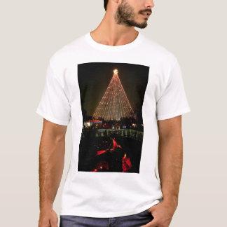 Trail of Lights Christmas TreeYule Log T-Shirt