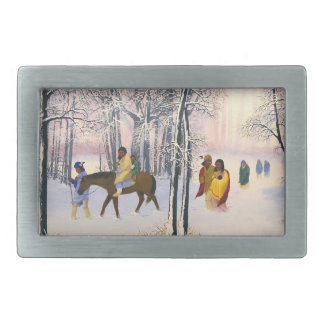 Trail of Tears Fine Art Belt Buckle