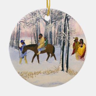 Trail of Tears Fine Art Ornament