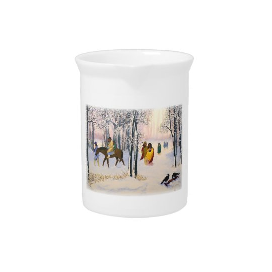 Trail of Tears Fine Art Pitcher