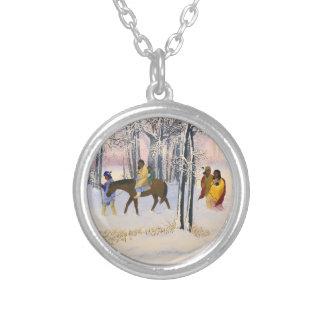 Trail of Tears Fine Art sterling silver necklace
