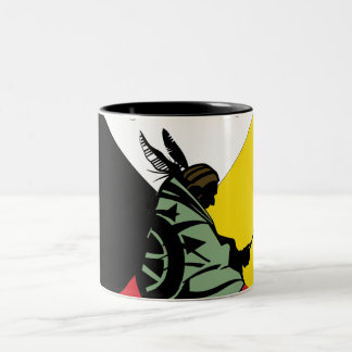 Trail of Tears Two-Tone Coffee Mug