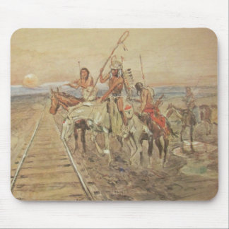 TRAIL OF THE IRON HORSE-MOUSEPAD MOUSE PAD
