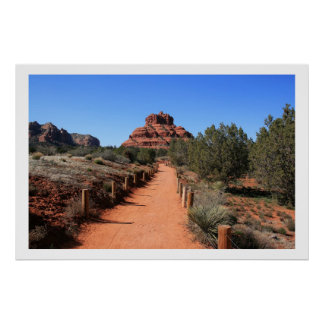 Trail to Bell Rock Poster