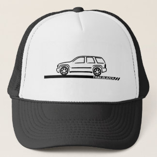 Trailblazer Black Truck Trucker Hat