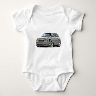 Trailblazer Silver Truck Baby Bodysuit