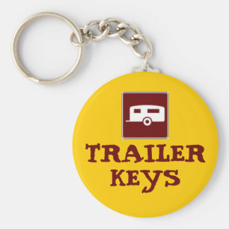 Trailer Camper Motorhome Keychain