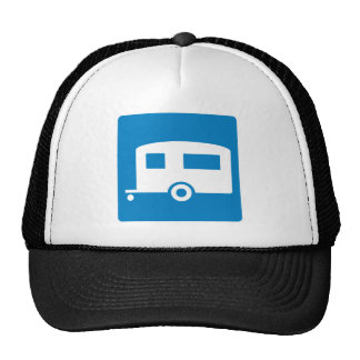 Trailer Camping Highway Sign Hat