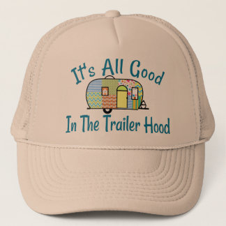 Trailer Hood Camper Hats