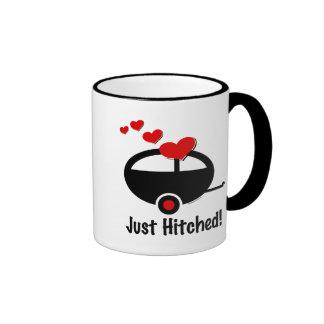 Trailer Just Hitched Coffee Mug
