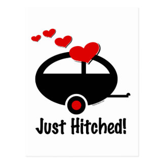 Trailer Just Hitched Postcard