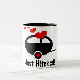 Trailer Just Hitched Two-Tone Mug