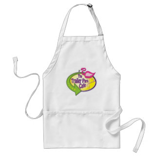 Trailer Park Cafe Logo Products Standard Apron