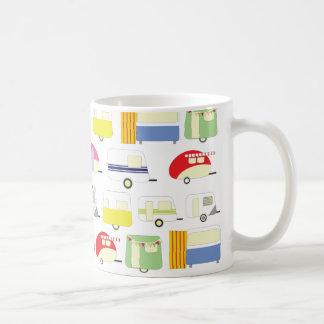 Trailer Park Colorful Pattern Coffee Mug
