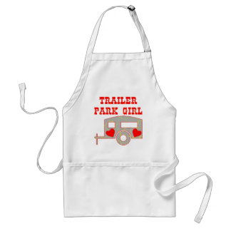 Trailer Park Girl Standard Apron