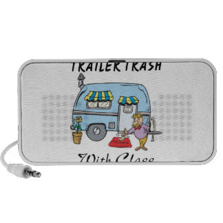 trailer park trash with class iPod speakers