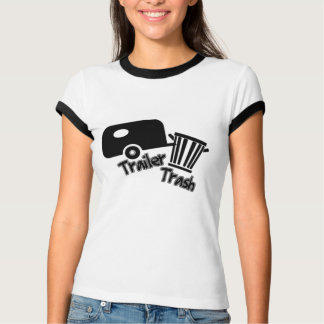 Trailerpark Living!  Funny Trailer Trash Icons T-Shirt